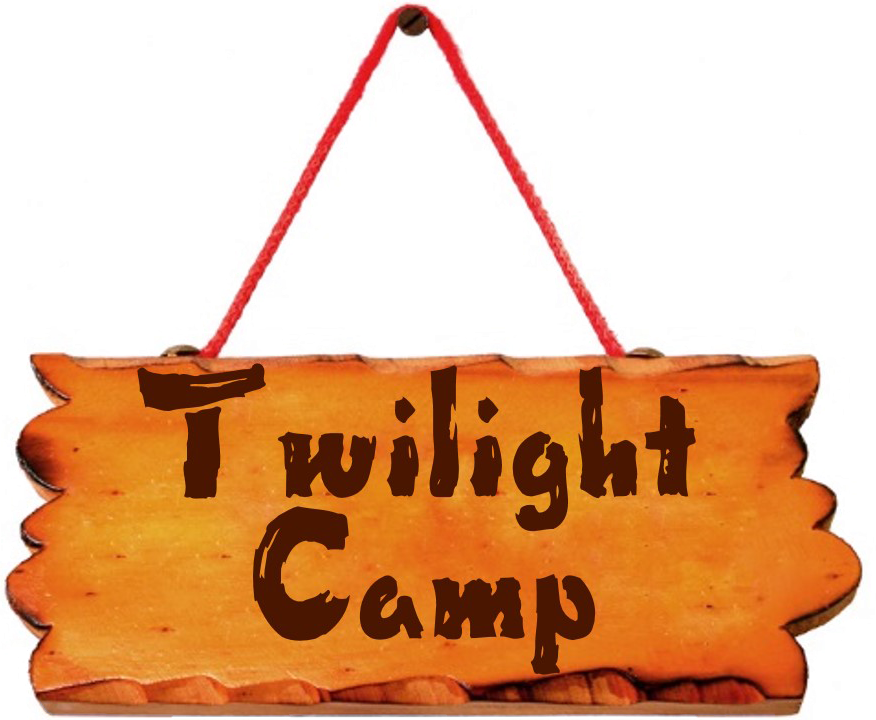 day camp sign